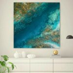 """Ocean Painting """"Coastal Gems"""""""