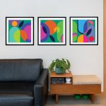 Plant Party Triptych – Ltd Ed Modernist Print