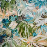 Peach Bellini – Tropical Flower Painting