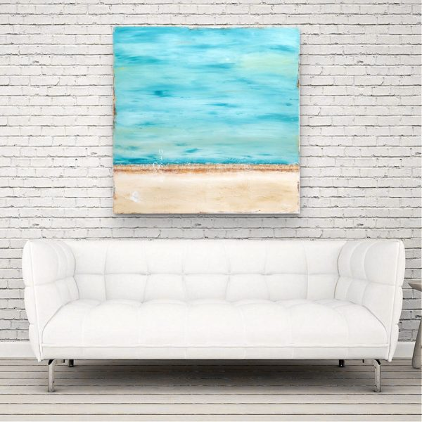 Salty Breeze Wht Couch