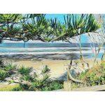 Shelly Beach I Ltd Edition Giclee print