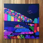 Sydney Harbour Sunset – Ltd Ed Canvas Print (Iconic series)