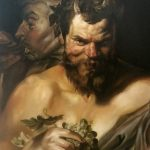 Two Satyrs Study