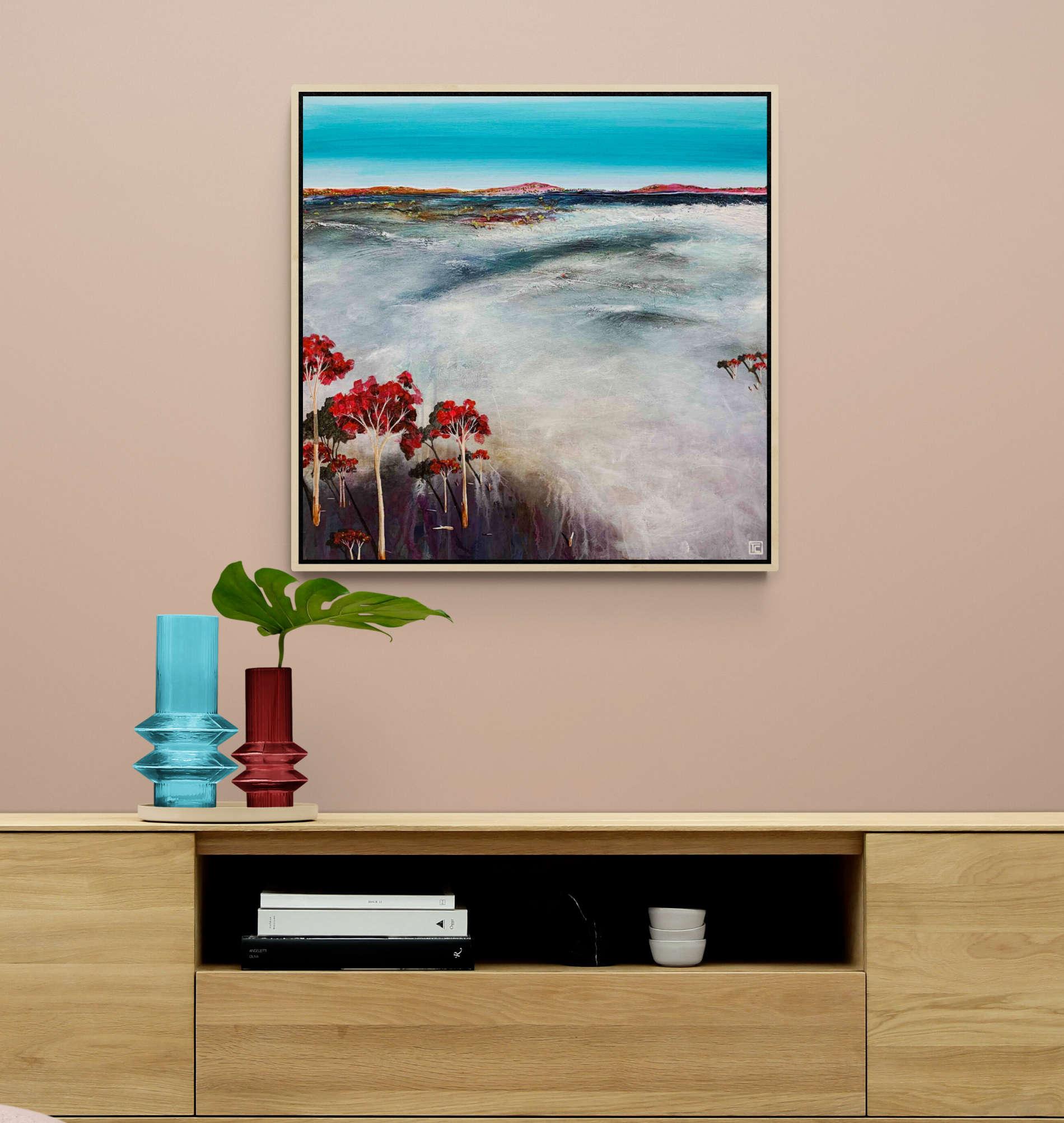 Tania Chanter Red River Gums Landscape
