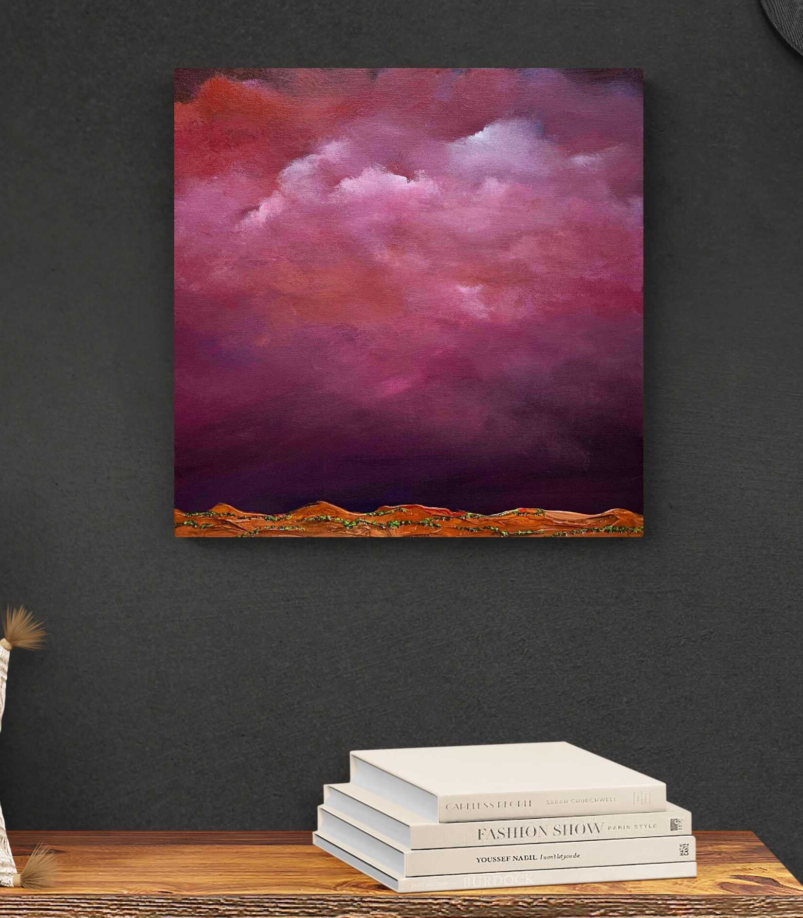 Tania Chanter Red Sky At Night Landscape