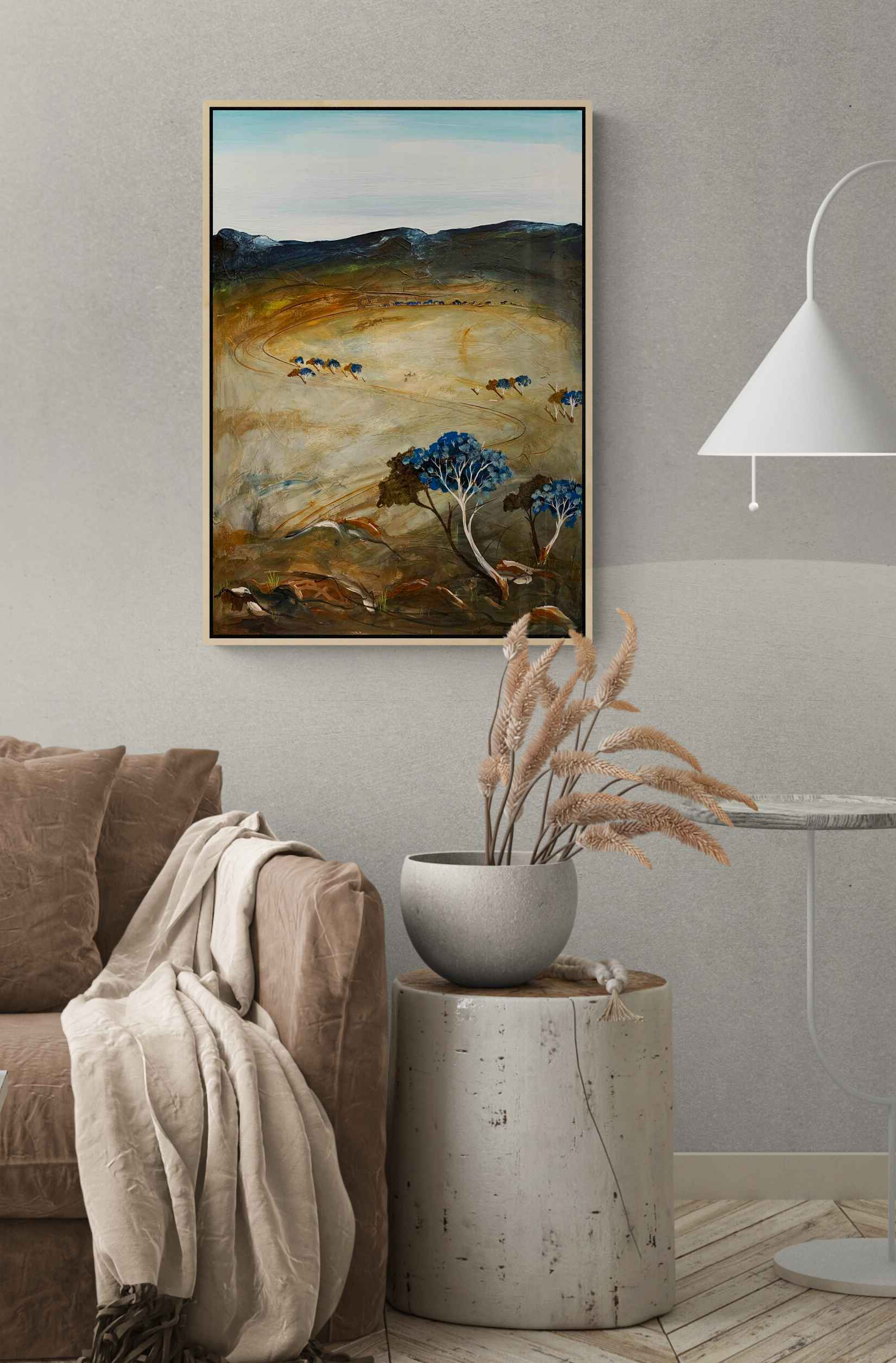 Tania Chanter Study For The Scorched Earth Landscape Art