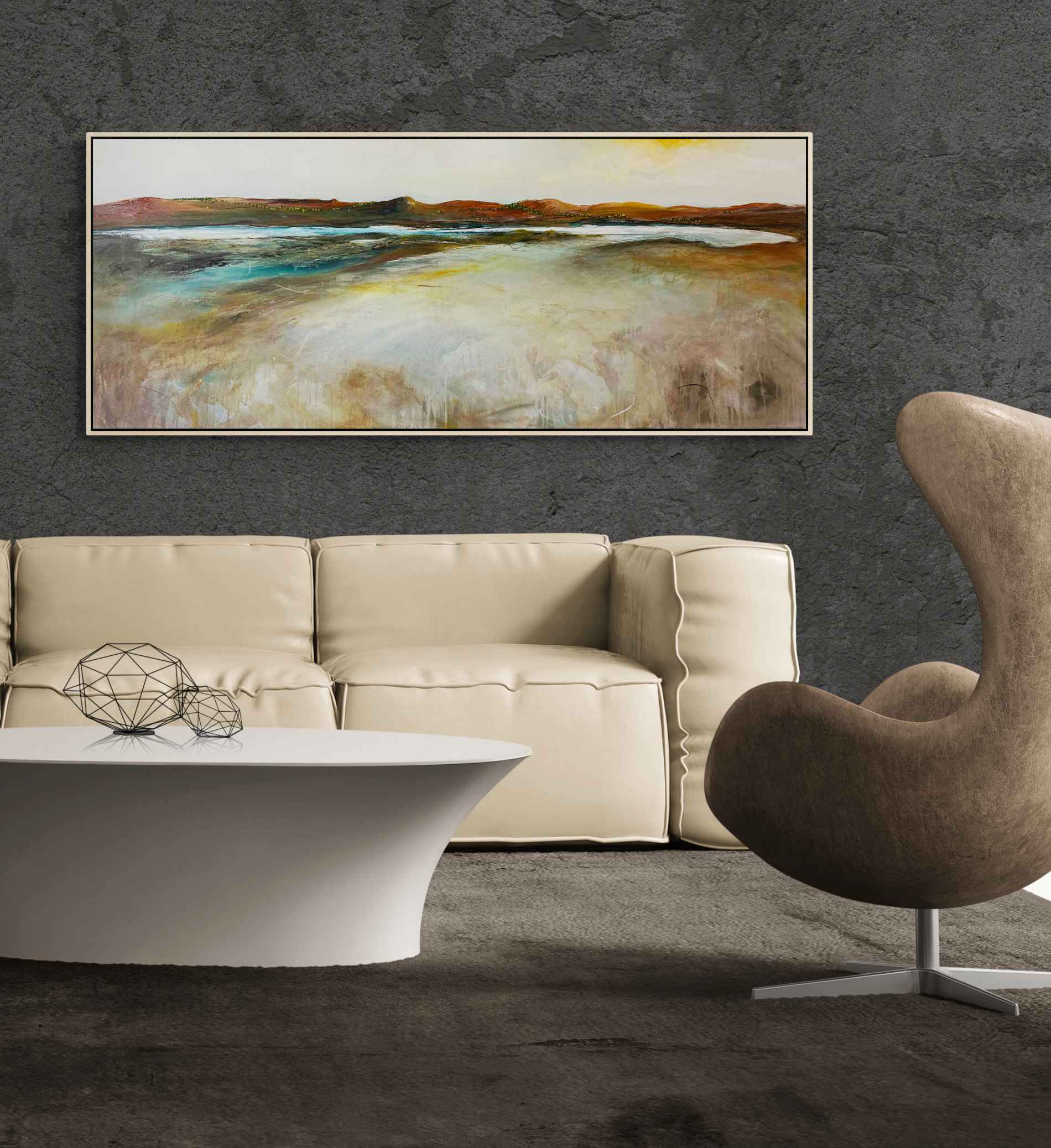 Tania Chanter The Inlet At Dawn Landscape Artwork