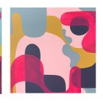 Upside Down and Back to Front (triptych)