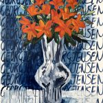 Asiatic Lilies in Georg Jensen #1