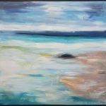 Rainy Day Abstract Bay