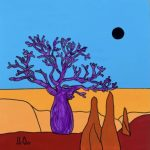 Eclipse in the Outback Boab Tree