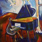 Emu at the Piano