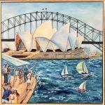 Sails On Sydney Harbour
