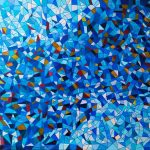 For The Love of Blue – From The Stained Glass Collection