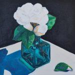 Green Glass Camellia