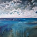After the storm- Textured abstract seascape