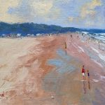 The Torquay Sand dunes Beach