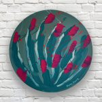 Good Fortune, Healthy, Happy Life – Australian Beauty Abstract Floral