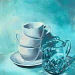 Aqua Glass Tea Cups | Aqua Glass Series No 3