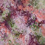 Blushing Landscape – Minimal Pink Abstract