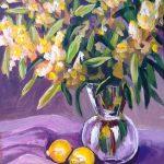 Golden Wattle and lemons