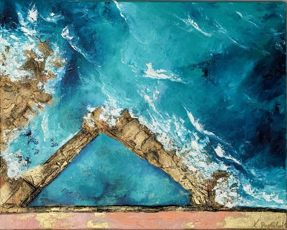 Fairy Bower Ocean Art Painting Kristyna Dostalova