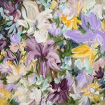 Flowers in the Wild – abstract floral