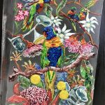 Book Cover – Lorikeets In Spring