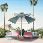 Palm Springs -Two Pink Chairs