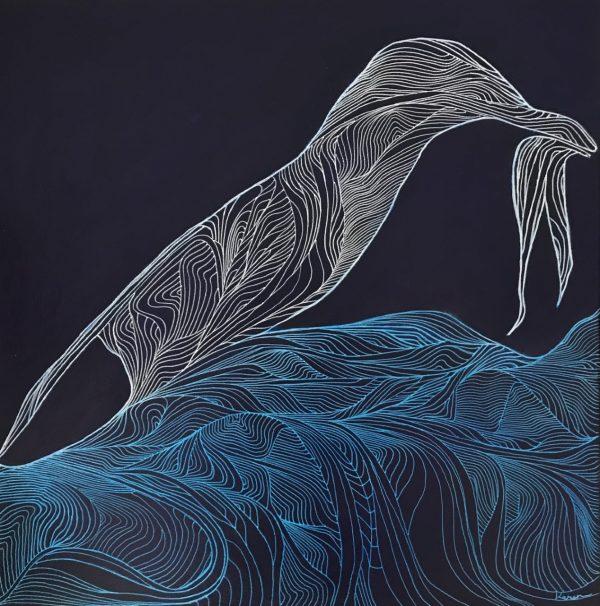 Karen Northey Gone Fishing Art For Sale 2021