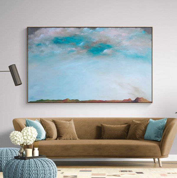 Open Country Tania Chanter Extra Large=cloudscape Abstract Landscape6