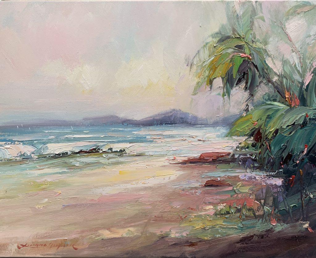 Palm Cove Beach No 3 Ocean Art Liliana Gigovic Art Lovers Australia