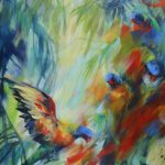 Rainbows in Shadows 2 – Australian Bird Series Exclusive to Art Lovers