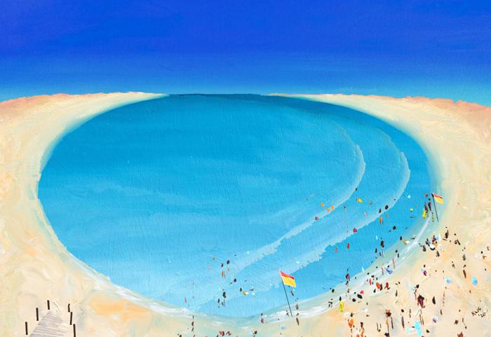 Summers Day 2 Ocean Art Seascape