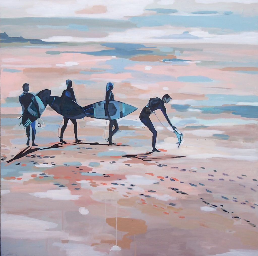 Surf Hour 1 Tulika Das Ocean Art