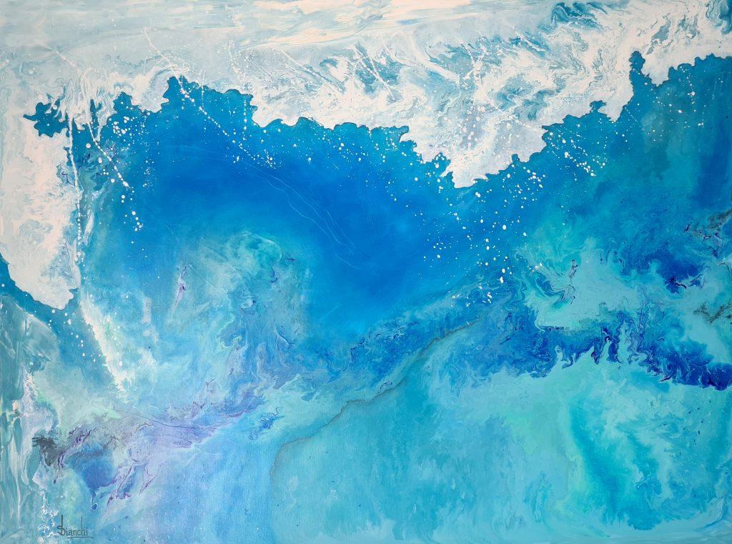 Surfs Up By Susanne Bianchi Ocean Art Paintings