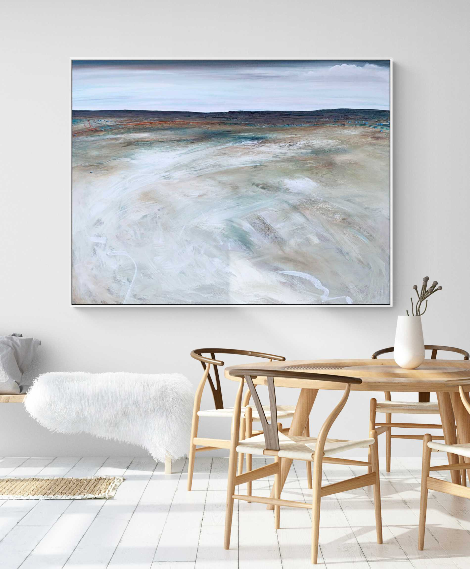 Tania Chanter Time And Tide Summer Landscape