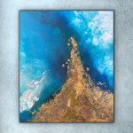 Where We Meet (Ocean Painting)