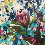 Wild Protea – Native Flower Painting