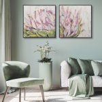 Blooming Protea 1 & 2 – Diptych