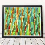 Trees of a Golden Age Ltd Ed Giclee Print