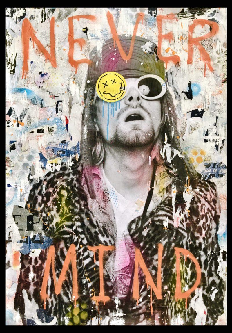 Kurt Cobain Nirvana Wall Art Coldghost