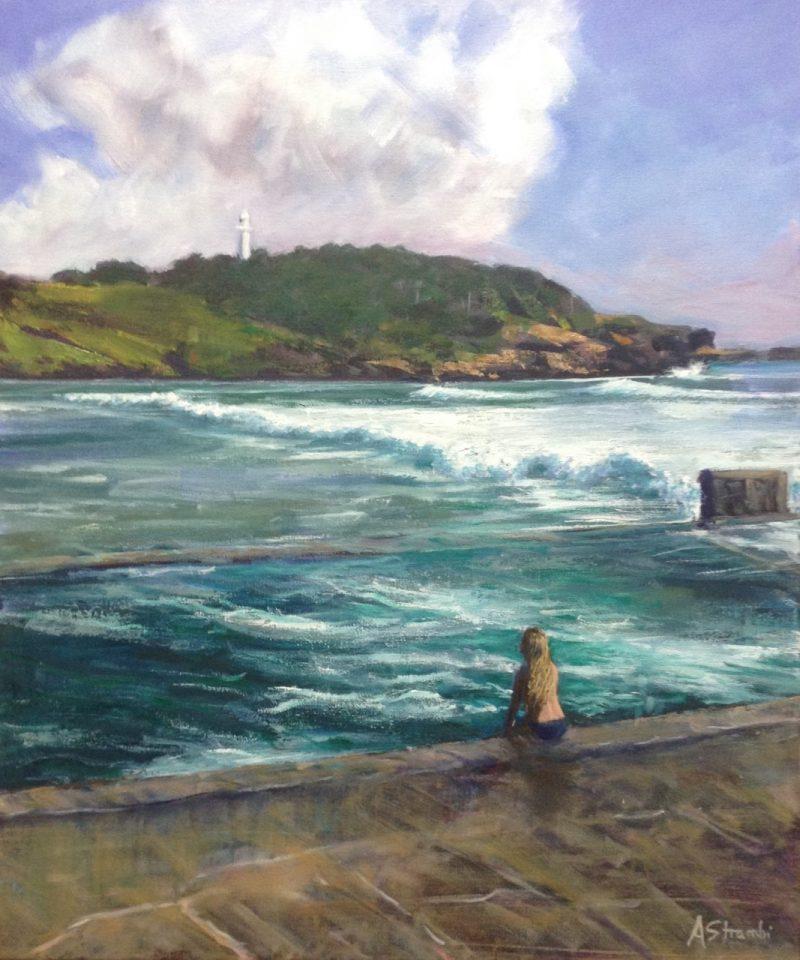 Ocean Baths Main Best Anne Strambi Ocean Art