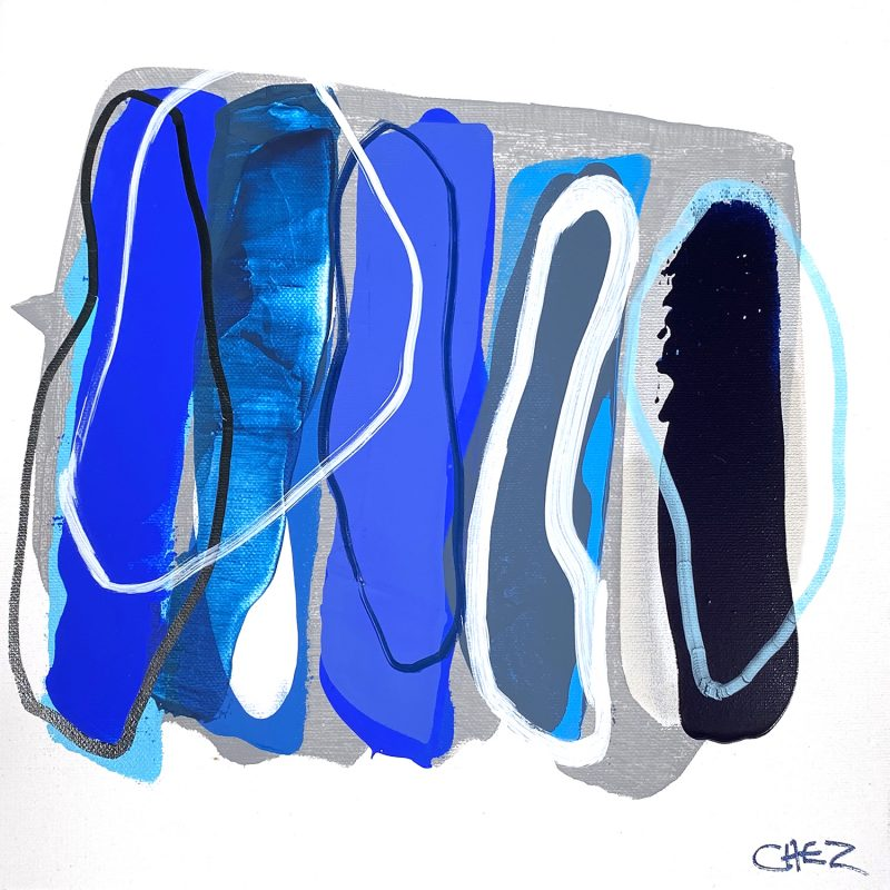 Ocean Ripples Cheryl Harrison Abstract Ocean Art