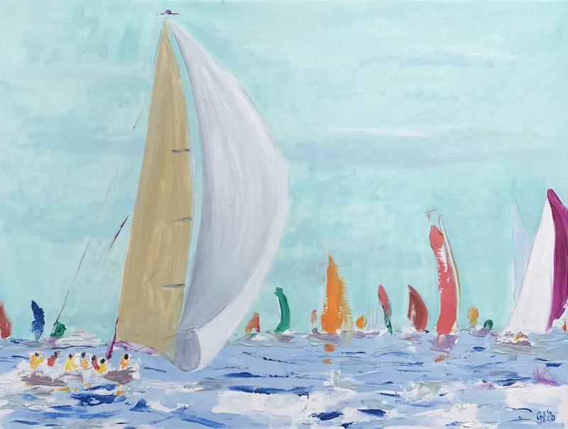 Sailing Wall Art Australia