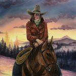 Sunrise Cowgirl