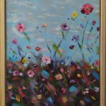One Summer Day, Framed – From The Garden Collection
