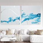 Crystal waters   –  Silver leaf
