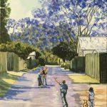 Cricket in Jacaranda Lane