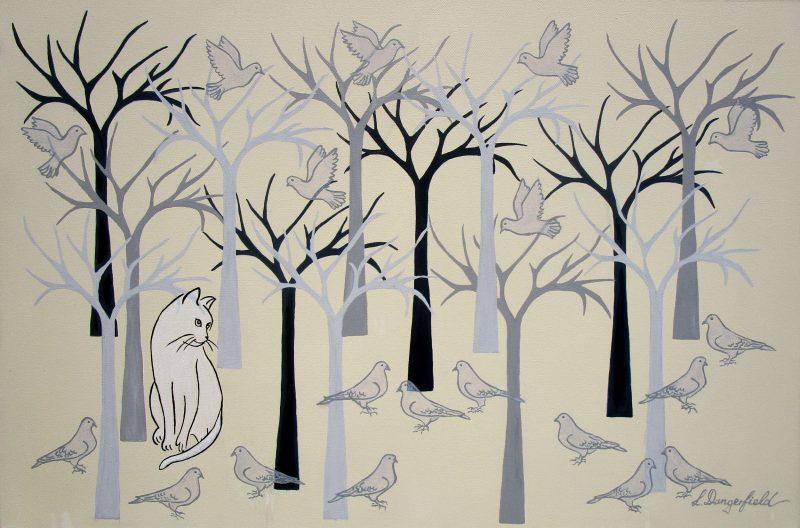 Cat Among The Pigeons 800x528
